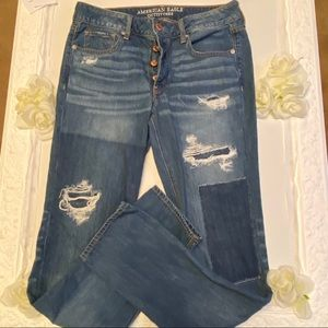 jeans American Eagle Outfitters distressed Tomgirl